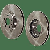 SET-STPA27110008-2 Brake Disc - Front, Driver and Passenger Side