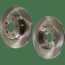 SET-STPA27110009-2 Brake Disc - Rear, Driver and Passenger Side