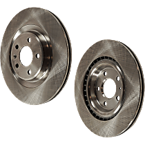 Brake Disc - Rear, Driver and Passenger Side