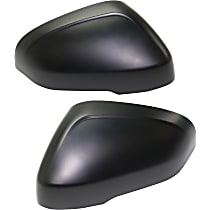 StyleLine Mirror Cover - SET-STYVV0713MC3 - Driver and Passenger Side, Upper, Paint to Match, Plastic, Direct Fit, Set of 2