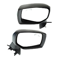 Driver and Passenger Side Heated Mirror - Power Glass, Manual Folding