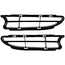 Grille Insert - Paintable, Driver and Passenger Side