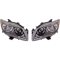 Driver and Passenger Side Halogen Headlight, Without Bulb(s) - Models Without Base Package