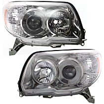 Headlights - Driver and Passenger Side, Pair, For Sport