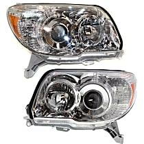 Driver and Passenger Side Headlight, Without bulb(s) - (Limited/SR5 Model)