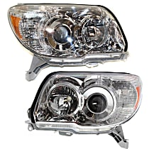 Headlights - Driver and Passenger Side, Pair, For Limited And SR5