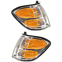 Driver and Passenger Side Turn Signal Light, With bulb(s) - Double Cab, With Prod. Date Up to 8/2004