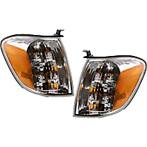 Driver and Passenger Side Turn Signal Light, With bulb(s) - Double Cab, With Prod. Date From 8/2004