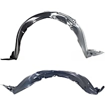 Fender Liner - Front, Driver and Passenger Side, Hatchback