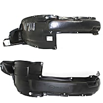 Fender Liner - Front, Driver and Passenger Side, Inner Panel