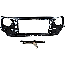 Radiator Support - Assembly and Center, Hood Latch Support