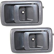 Interior Door Handle, Gray Front and Rear, Passenger Side