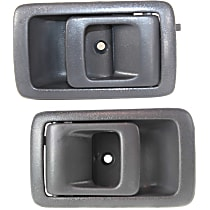 Interior Door Handle, Gray Front or Rear, Driver and Passenger Side