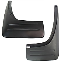 Rear, Driver and Passenger Side Mud Flaps, Set of 2
