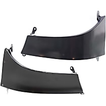 Replacement Steel Bumper Filler - Rear, Driver and Passenger Side