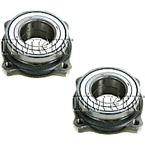SET-TM512225 Wheel Bearing - Rear, Driver and Passenger Side, Set of 2