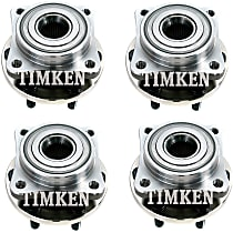 Wheel Hub With Ball Bearing - Set of 4