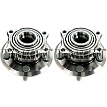 Wheel Hub With Ball Bearing - Set of 2 Rear, Driver and Passenger Side Front or Rear, Driver and Passenger Side
