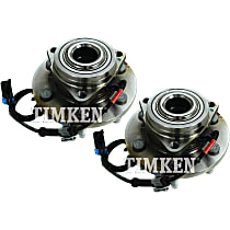 Wheel Hub With Ball Bearing - Set of 2 Front, Driver and Passenger Side