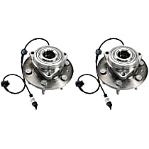 SET-TMSP500301 Wheel Hub With Ball Bearing - Set of 2