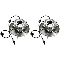 Wheel Hub With Ball Bearing - Set of 2