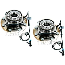 SET-TMSP580312 Front, Driver and Passenger Side Wheel Hub Bearing included - Set of 2
