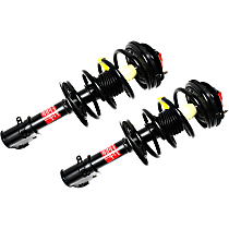 OE Replacement Front, Driver and Passenger Side Loaded Strut - Set of 2