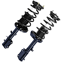 OE Replacement Rear, Driver and Passenger Side Loaded Strut - Set of 2