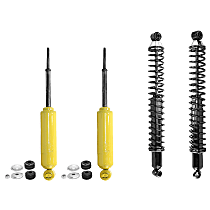 OE Replacement Front and Rear, Driver and Passenger Side Shock Absorber - Set of 4
