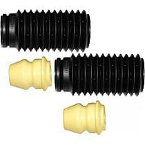 Monroe SET-TS63631 Shock and Strut Boot - Black, Strut boot, Direct Fit, Set of 2
