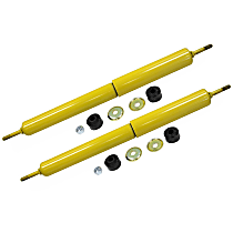 OE Replacement Front, Driver and Passenger Side Shock Absorber - Set of 2