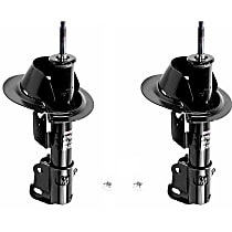 OE Replacement Front, Driver and Passenger Side Strut - Set of 2