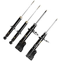 OE Replacement Front and Rear, Driver and Passenger Side Strut - Set of 4