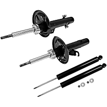 SET-TS72547-C OE Replacement Front and Rear, Driver and Passenger Side - Set of 4