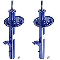 OE Replacement Rear, Driver and Passenger Side Strut - Set of 2