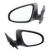 Mirror - Driver and Passenger Side (Pair), Paintable, For France Built Models