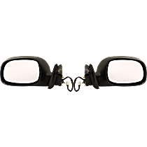 Power Mirror, Driver and Passenger Side, Limited Model, Access Cab, Manual Folding, Heated, Paintable