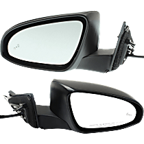 Mirror - Driver and Passenger Side (Pair), Power, Heated, Folding, Paintable, With Blind Spot Function