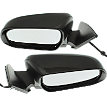 Mirror - Driver and Passenger Side (Pair), Power, Heated, Paintable, US Built Models
