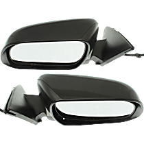 Mirror - Driver and Passenger Side (Pair), Power, Heated, Paintable, With Puddle Lamp, US Built Models