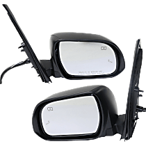 Mirror - Driver and Passenger Side (Pair), Power, Heated, Power Folding, Paintable, With Turn Signal, Memory & Blind Spot Function