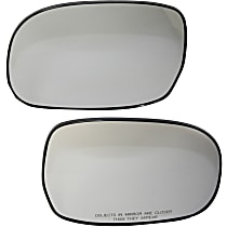 Driver and Passenger Side Non-Heated Mirror Glass