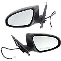 Mirror - Driver and Passenger Side (Pair), Power, Paintable, For Models Built in Japan