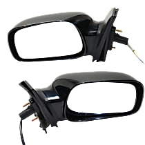 Kool Vue Power Mirror, Driver and Passenger Side, CE Model, Non-Folding, w/o Signal, Paintable