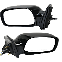 Power Mirror, Driver and Passenger Side, LE/S/XRS Models, Non-Folding, Non-Heated, w/o Signal, Paintable