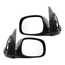 Power Mirror, Driver and Passenger Side, Sequoia SR5/Tundra Limited Models, Manual Folding, Non-Heated, Paintable