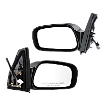 Power Mirror, Driver and Passenger Side, Non-Folding, Non-Heated, Paintable