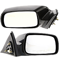 Power Mirror, Driver and Passenger Side, For Japan Built Models, Non-Folding, Heated, Paintable