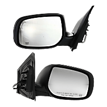 Mirror - Driver and Passenger Side (Pair), Power, Heated, Paintable, For Japan Or US Built Models