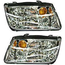 Driver and Passenger Side Halogen Headlight, With Bulb(s) - From VIN 2108642
